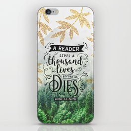 Thousand Lives iPhone Skin