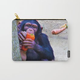 Baby Monkey has a Snack Carry-All Pouch