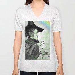 Wickedy Witch Unisex V-Neck