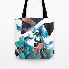 Verso by carographic, Carolyn Mielke Tote Bag