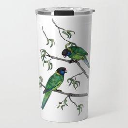 Ringneck Parrots Travel Mug