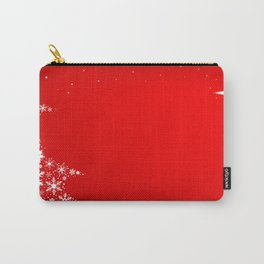 Red Christmas Carry-All Pouch