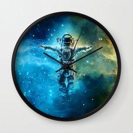 Cosmic Dreams Wall Clock