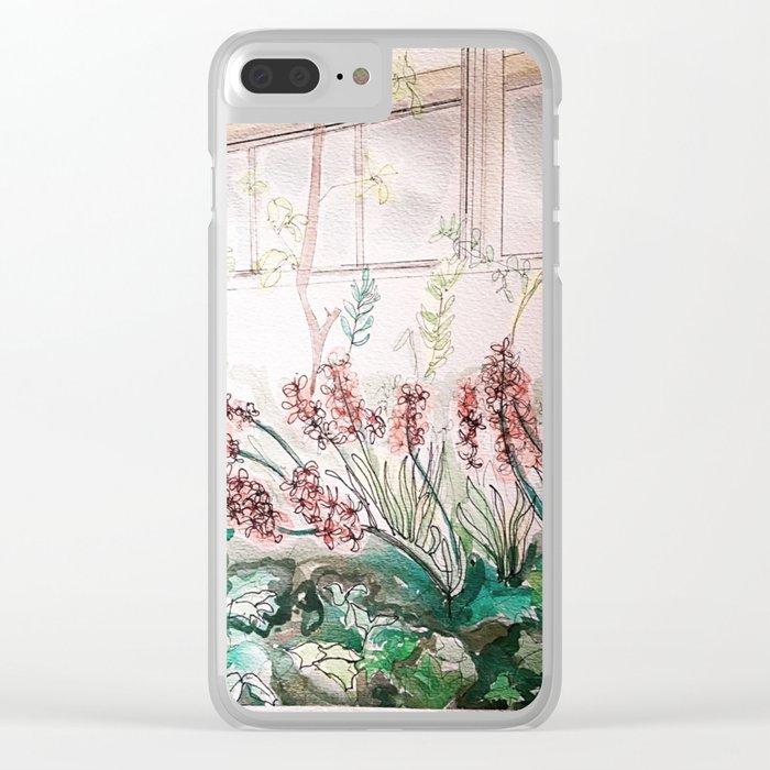 Allen Garden Conservatory Toronto Clear iPhone Case