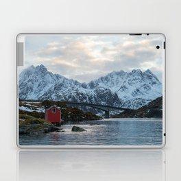 Lofoten winter Laptop & iPad Skin