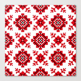 Slavonic national ornament Canvas Print