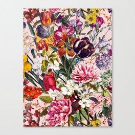 Exotic Garden - Summer Canvas Print