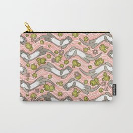 Swimming Otter Girls Carry-All Pouch