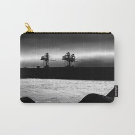 Cranes at Port Talbot Carry-All Pouch