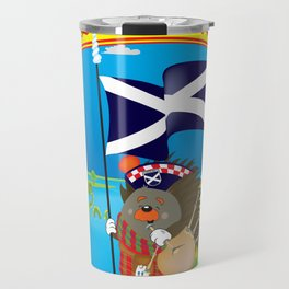 Greetings from Scotland Travel Mug