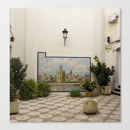 Memories of Sevilla #1 Canvas Print