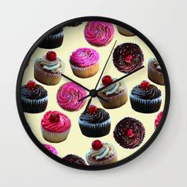 Cupcakes Wall Clock