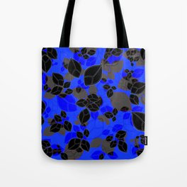 Leafs in Yellow Tote Bag