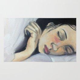 Sleeping Girl Rug