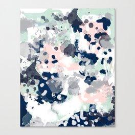 Tate - abstract modern minimal painting art nursery baby office home decor minimalist modern nursery Canvas Print