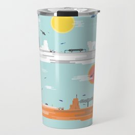 The Four Continents  Travel Mug
