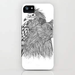 Oso+Alimoche iPhone Case