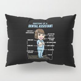 Anatomy Of A Dental Assistant Pillow Sham