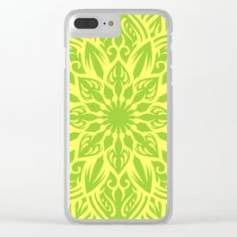 fresh mandala Clear iPhone Case