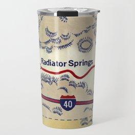 map radiator springs Travel Mug
