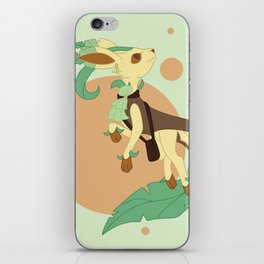 Leaf Steampunk Fox iPhone Skin