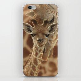 Giraffe Baby - New Born iPhone Skin