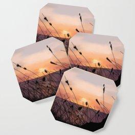 The Sunset on the Sea. Coaster