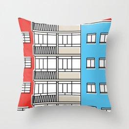 Edificio Canaima -Detail- Throw Pillow