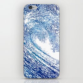 Pacific Waves IV iPhone Skin