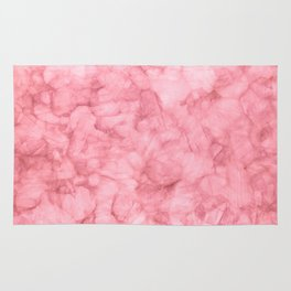 Blush Pink Watercolor Rug