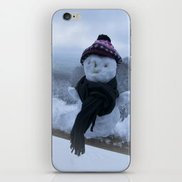 Silly Snowman iPhone Skin