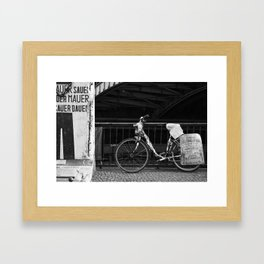 Berlin Bike Framed Art Print