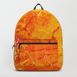 Vegetable Abstract Print Backpack