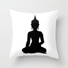 Simple Buddha Throw Pillow