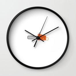 chainsaw Wall Clock