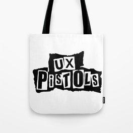 UX Pistols (black) Tote Bag