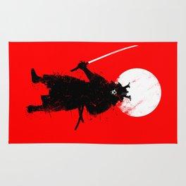 Ghost Samurai Rug