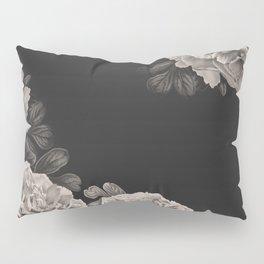 Flowers on a winter night Pillow Sham
