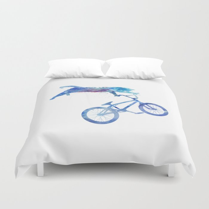 BMX Cat Duvet Cover