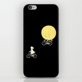The moon and me iPhone Skin