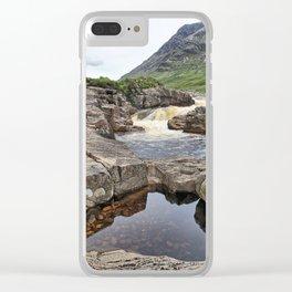 Glen Etive II Clear iPhone Case