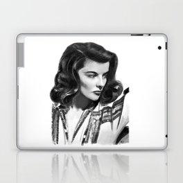 Katharine Hepburn Portrait Laptop & iPad Skin