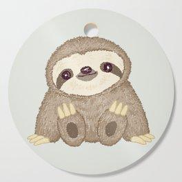 Sloth Cutting Board