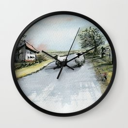 None Shall Pass Wall Clock