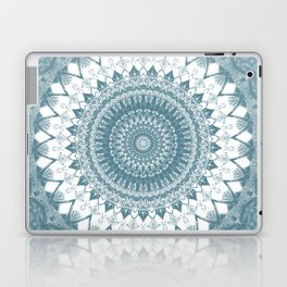 Boho Blue Mandala Laptop & iPad Skin