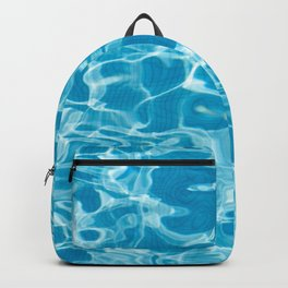 Geometric Pool Me - Retro Pool - Backpack
