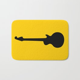 Simple Guitar Bath Mat