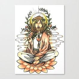 Spiritual man Canvas Print