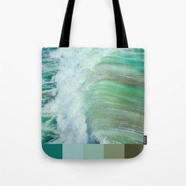 California Water Color Tote Bag