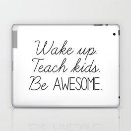 Awesome Teacher Laptop & iPad Skin